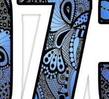 973 Doodle Sticker