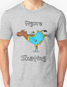 Figure Skating Cow T-Shirt
