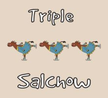 Triple Salchow Cow by uddertees
