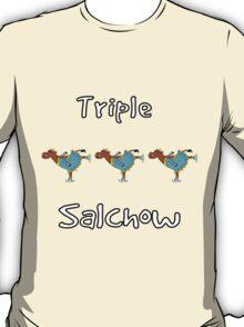 Triple Salchow Cow T-Shirt
