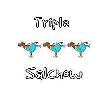 Triple Salchow Cow Photographic Print