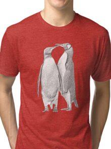 King Penguins, South Georgia Tri-blend T-Shirt