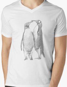 King Penguins, South Georgia Mens V-Neck T-Shirt