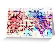 circuit recognition Greeting Card