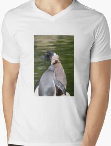 Penguin #2 Mens V-Neck T-Shirt