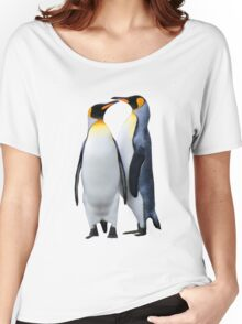 King Penguins, South Georgia Women's Relaxed Fit T-Shirt