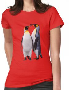 King Penguins, South Georgia Womens Fitted T-Shirt
