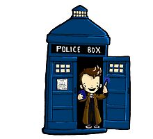 DOCTOR WHO IN TARDIS TENTH DOCTOR by Bantambb