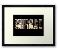 CSGO Mirage (A Site) Framed Print