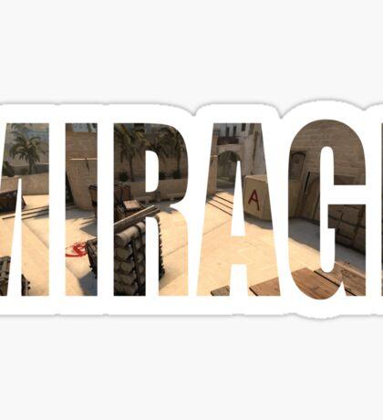 CSGO Mirage (A Site) Sticker
