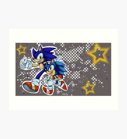 Sonic Generations Art Print