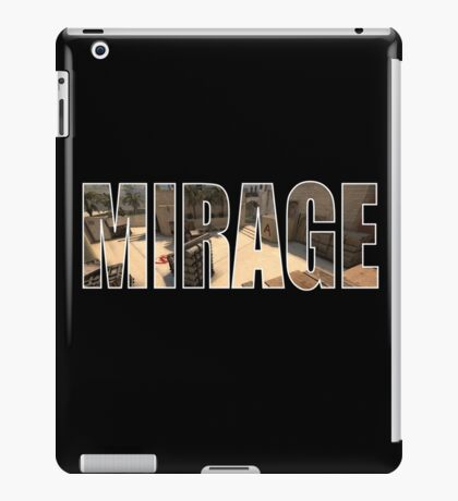 CSGO Mirage (A Site) iPad Case/Skin
