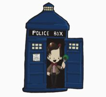 DOCTOR WHO IN TARDIS ELEVENTH DOCTOR Kids Tee