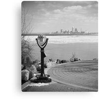 Cleveland View Canvas Print