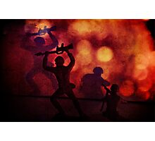 Silhouettes and Shadows Photographic Print