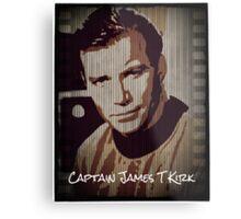 Captain James T Kirk Star Trek Metal Print