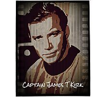 Captain James T Kirk Star Trek Photographic Print
