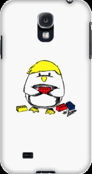 Luke the Penguin by judymoy