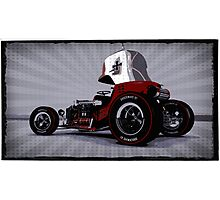Hot Rod Red Baron Photographic Print