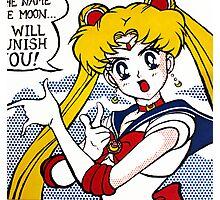 Pop Fusion - Sailor Moon Photographic Print