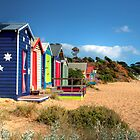 Mornington Peninsula Beach Boxes by Christine Smith