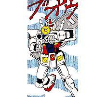 Pop Fusion - R-78 Gundam Photographic Print