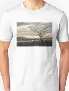 Searching for the Sun on an Angry Sky Unisex T-Shirt
