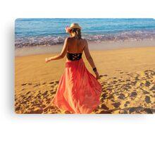 ViVi on the Beach - St. Lucia, Caribbean Metal Print