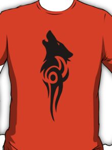 Howling Wolf Tribal T-Shirt