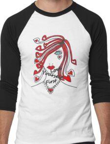 Love Yourself First Men's Baseball ¾ T-Shirt