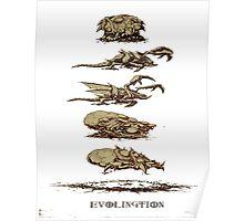 Evolution Zerg Poster