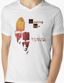 Breaking Bad - Walter And Jesse Awesome Design! Mens V-Neck T-Shirt