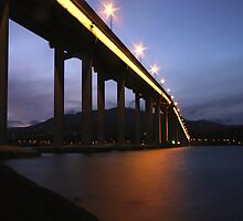 The Tasman Bridge, Hobart Tasmania by Emily Taylor