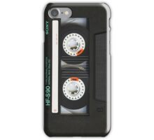 Classic Retro Sony Cassette Tape iPhone Case/Skin