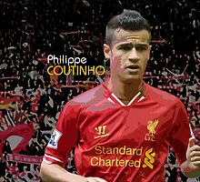 Philippe Coutinho - Design 1 by Nick Bellotti