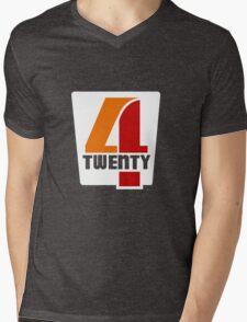 Four Twenty Mens V-Neck T-Shirt