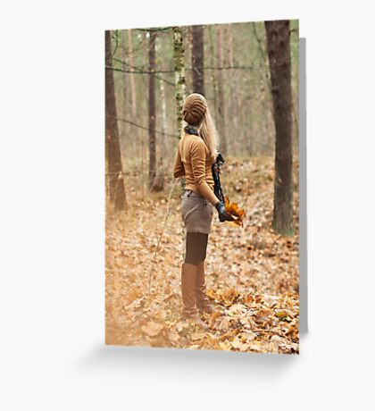 It is autumn Greeting Card