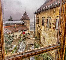 Bled castle by Dobromir Dobrinov