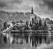 Lake Bled, Slovenia by Dobromir Dobrinov