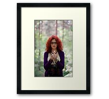 Playing with fire Framed Print