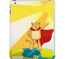 Cats rule the world iPad Case/Skin