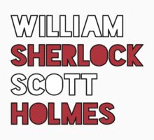 William Sherlock Scott Holmes by poorlydesigns