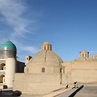 Mosque, Madrassa, Minaret, Bukhara, Silk Road by Jane McDougall