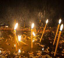 Candles by Dobromir Dobrinov