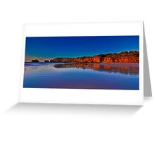 """""""Rocky Point Reflections"""" Greeting Card"""