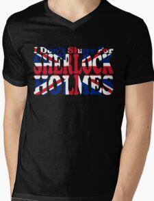 I Don't Shave For Sherlock Holmes Mens V-Neck T-Shirt