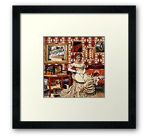 Screen Queen Framed Print