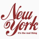 New York (Coke Font) by crazytees