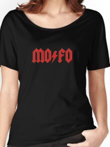 MOFO Rock & Roll Women's Relaxed Fit T-Shirt