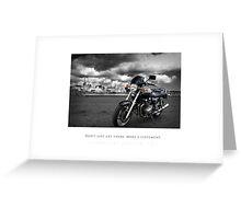 Jonas' Bike Greeting Card